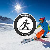 Skiing option
